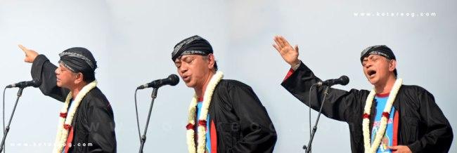 Ray Sahetapi bacakan Puisi Nusantara di Festival Bantarangin 2013